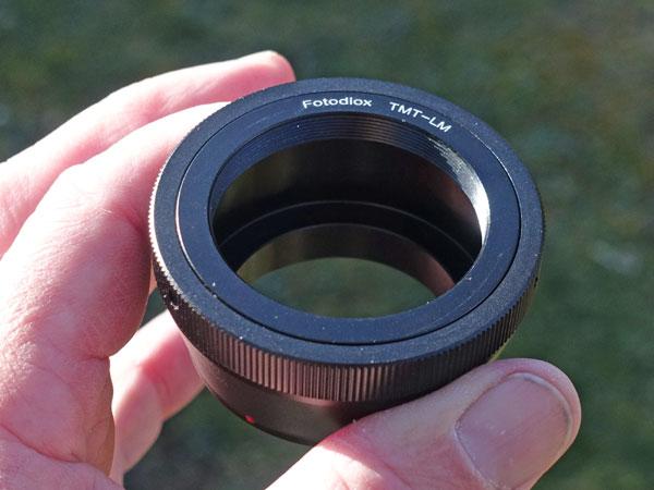 Leica m typ240 am teleskop 3