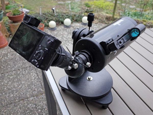 Membuat mounting kamera teleskop mudah dan murah hanya habis