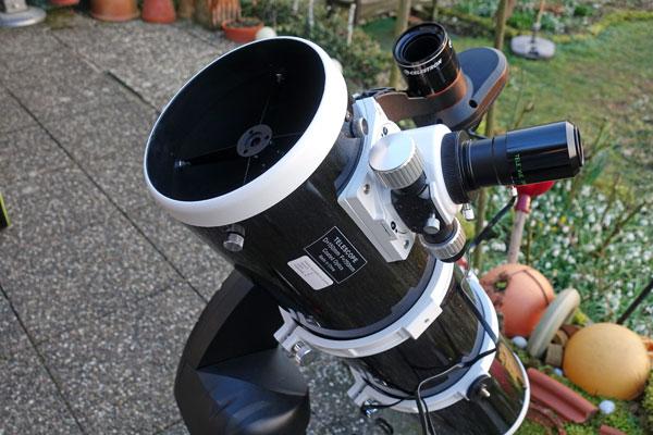 Skywatcher teleskop montierung az gti mit goto und wlan teleskop